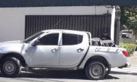 Uno de los vehículos que solicita la PNC fue usado para el resguardo de evidencia. (Foto Prensa Libre: Hemeroteca PL)