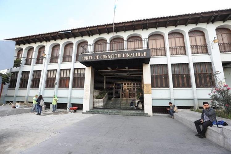 La CC es el máximo tribunal del país (Foto Prensa Libre: Hemeroteca PL)
