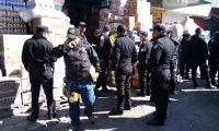 El mercado de la Terminal Minerva es un lugar donde se han tenido varios altercados entre policías y vendedores. (Foto Prensa Libre: Cortesía)