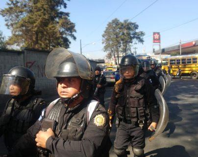 La población de Xela pide mayor vigilancia de parte de los agentes de la PNC (Foto Prensa Libre: Cortesía)