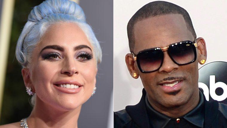 Lady Gaga se apartó de R. Kelly, acusado de múltiples casos de abuso (Foto Prensa Libre: AFP).