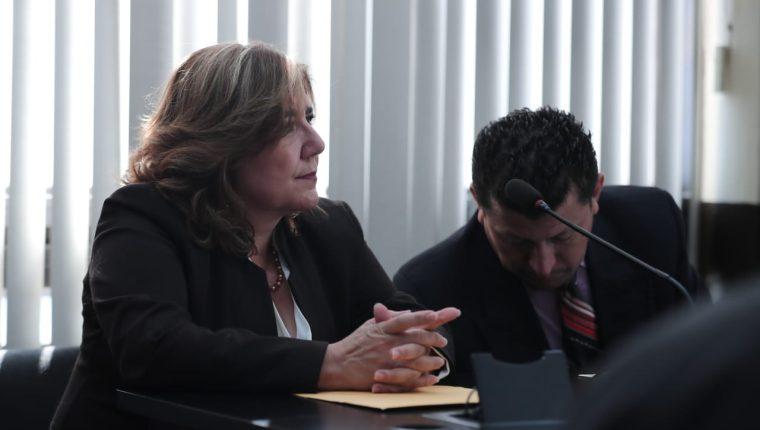 La sindicada Luisa María Salas Bedoya. (Foto Prensa Libre: Juan Diego González)