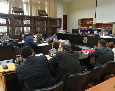 El exdirectivo de Bancafé, Patricio Rafael Andrade Falla declaró en el Juzgado de Mayor Riesgo B. (Foto Prensa Libre: Kenneth Monzón)