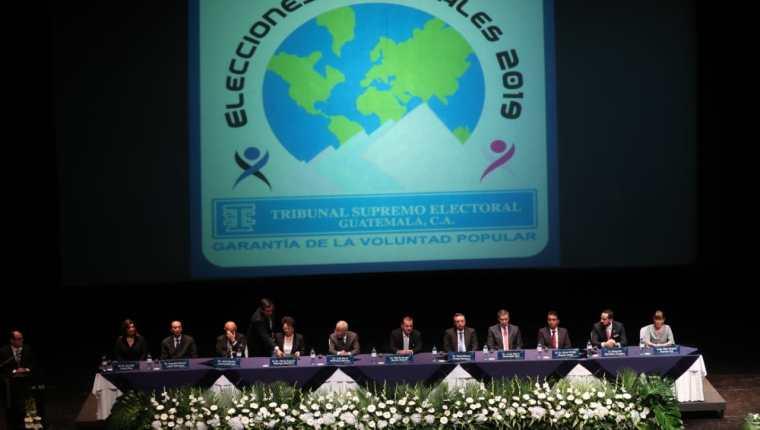 El Tribunal Supremo Electoral convocó a elecciones el viernes 18 de enero del 2019. (Foto Prensa Libre: Carlos Hernández)