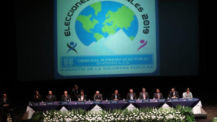 El Tribunal Supremo Electoral lanzó la convocatoria de elecciones el pasado 18 de enero. (Foto Prensa Libre: Carlos Hernández)