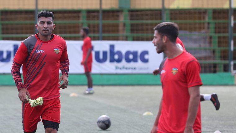 Petapa se entrenó este miércoles 9 de enero del 2019, enfocado en su debut en el Clausura 2019, de local, contra Cobán Imperial, el viernes (Foto Prensa Libre: Edwin Fajardo)