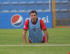 Marco Pappa juega su segundo torneo con Xelajú, en el Apertura 2018 anotó cuatro goles. Foto Prensa Libre: Raúl Juárez