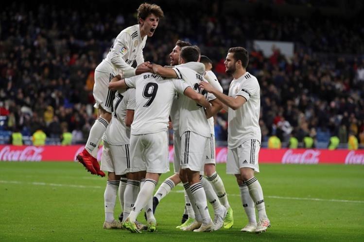 El Real Madrid consiguió su primer victoria del 2019.