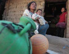 La pobreza es uno de los principales factores de la migración desde la provincia, no obstante, -Conamigua invertirá en una campaña para desincentivar la migración. (Foto Prensa LIbre: Hemeroteca PL)