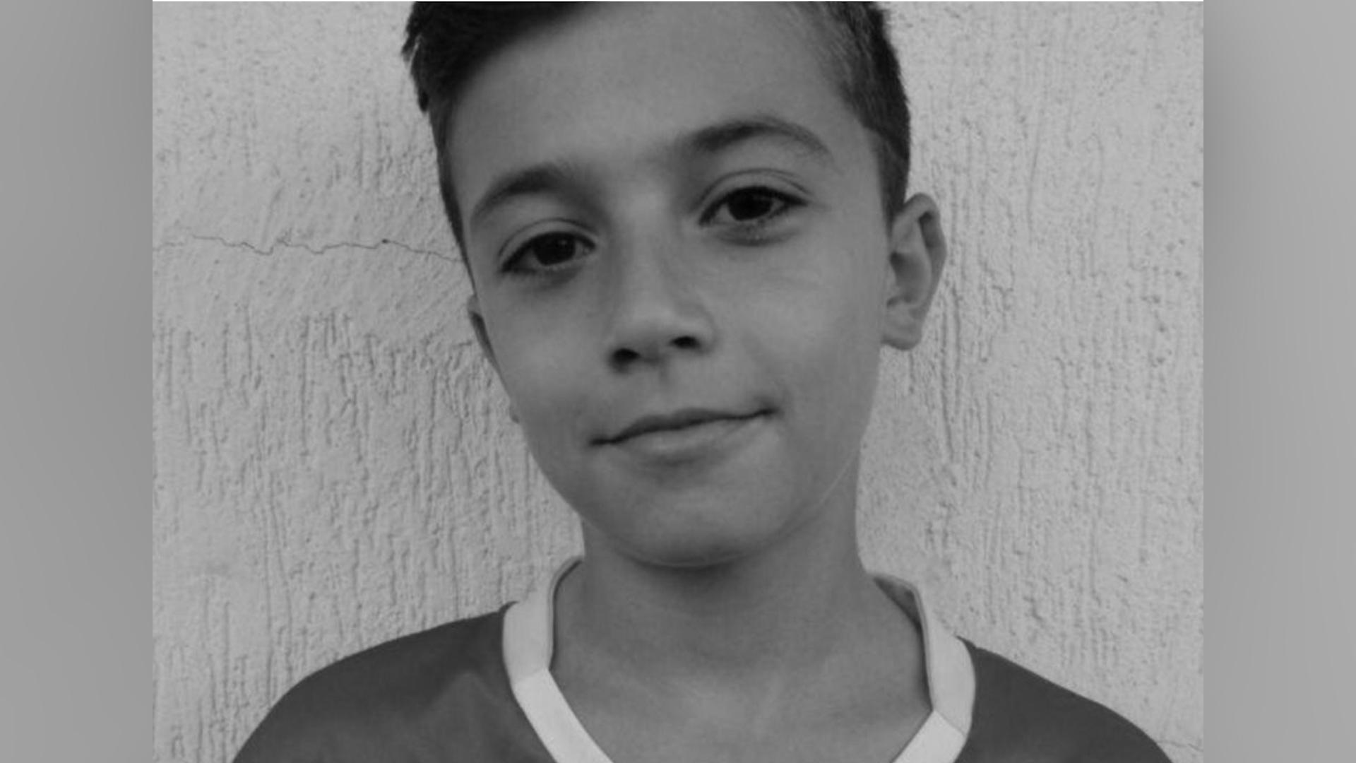 El pequeño Diego Vitarela falleció de un ataque al corazón durante un partido de futbo. Tenía tan solo 14 años. (Foto Prensa Libre: Redes)