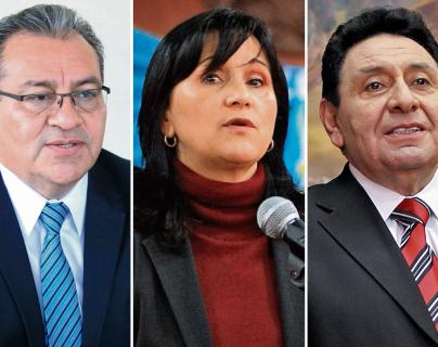 Tres magistrados titulares de la Corte de Constitucionalidad (CC) fueron denunciados por la Asociación de Dignatarios de la Nación. (Fotos Prensa Libre: Hemeroteca PL)
