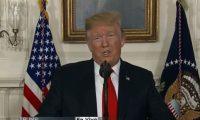 El presidente Donald Trump anuncia una propuesta para reabrir el gobierno, que afecta DACA y los TPS. (Foto Prensa Libre: Captura Youtube)