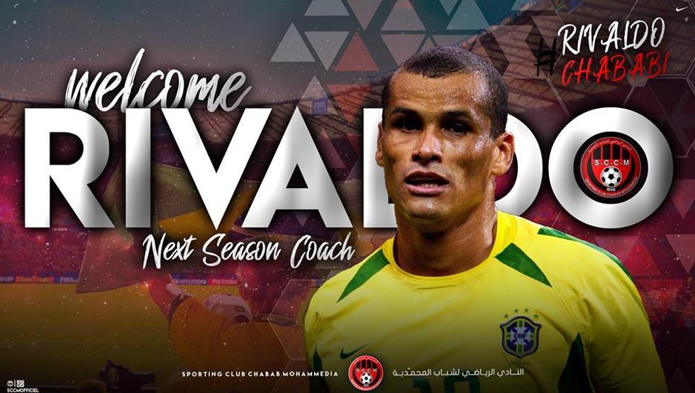 Rivaldo está listo para una nueva aventura, como entrenador. (Foto Prensa Libre: Twitter)