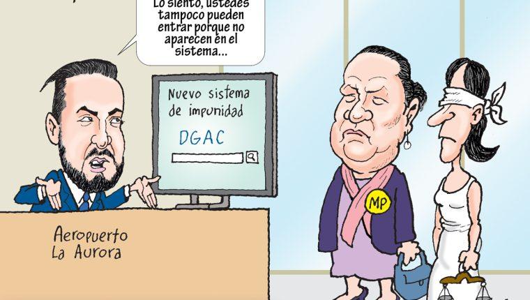 Caricatura de Fo del 12 de enero 2019