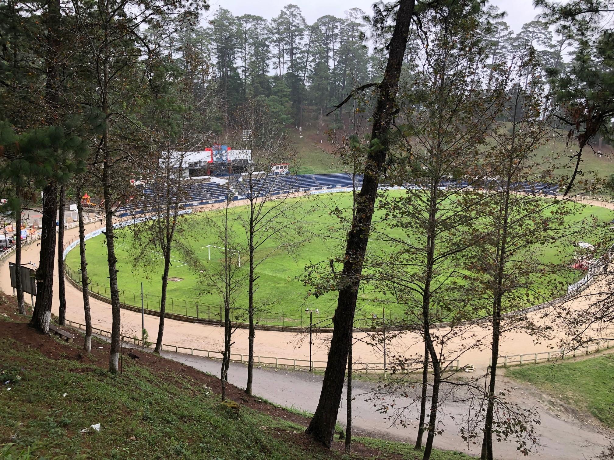 El Estadio Verapaz ha sido vulnerable en los partidos de alto impacto de Cobán Imperial. (Foto Prensa Libre: Eduardo Sam Chun)