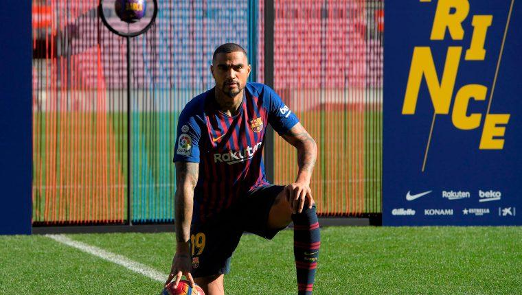El Barcelona, sin Messi pero con Boateng, listo para