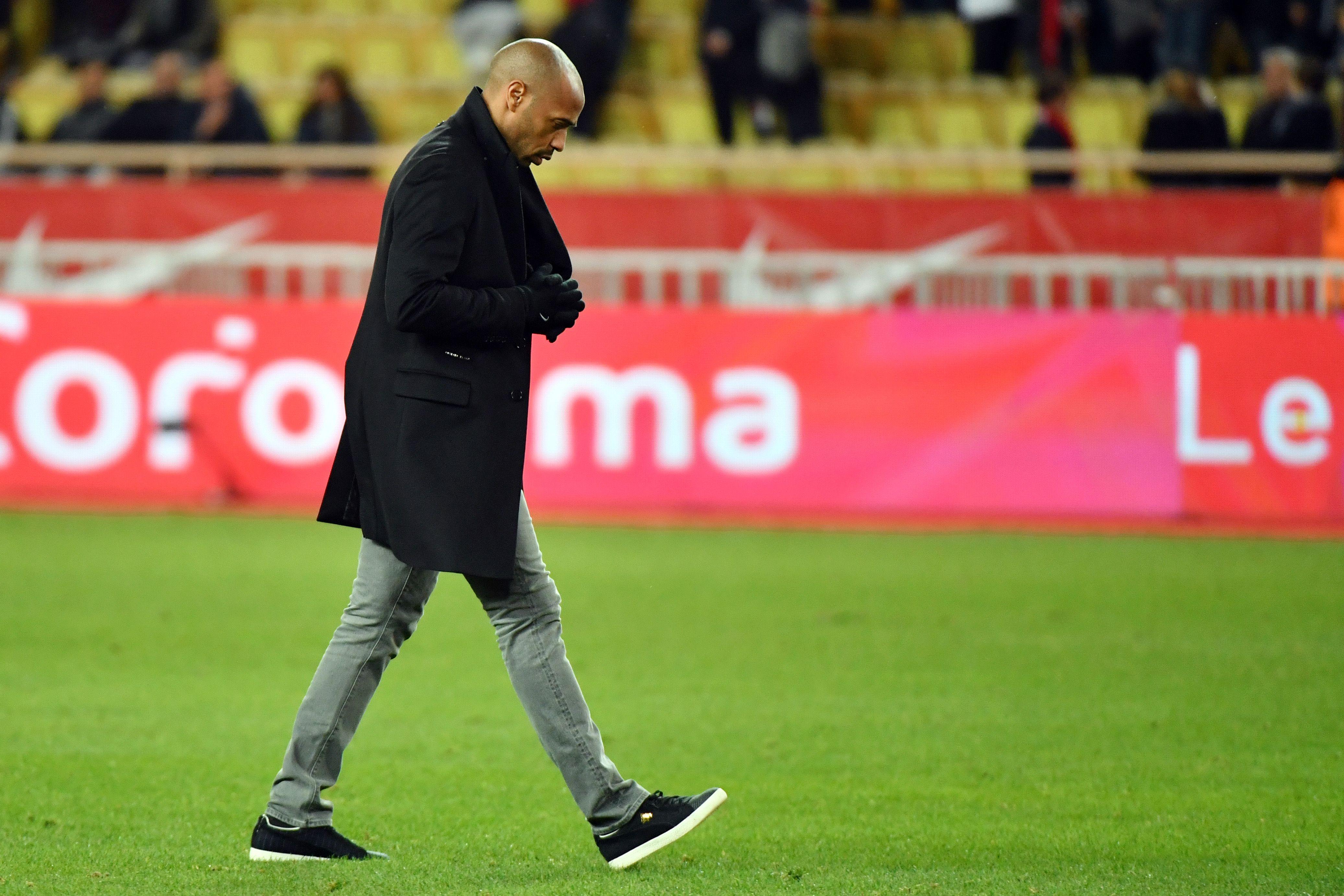 Henry, de 41 años, llegó al equipo a mediados octubre pasado, en sustitución del portugués Leonardo Jardim. (Foto Prensa Libre: AFP).