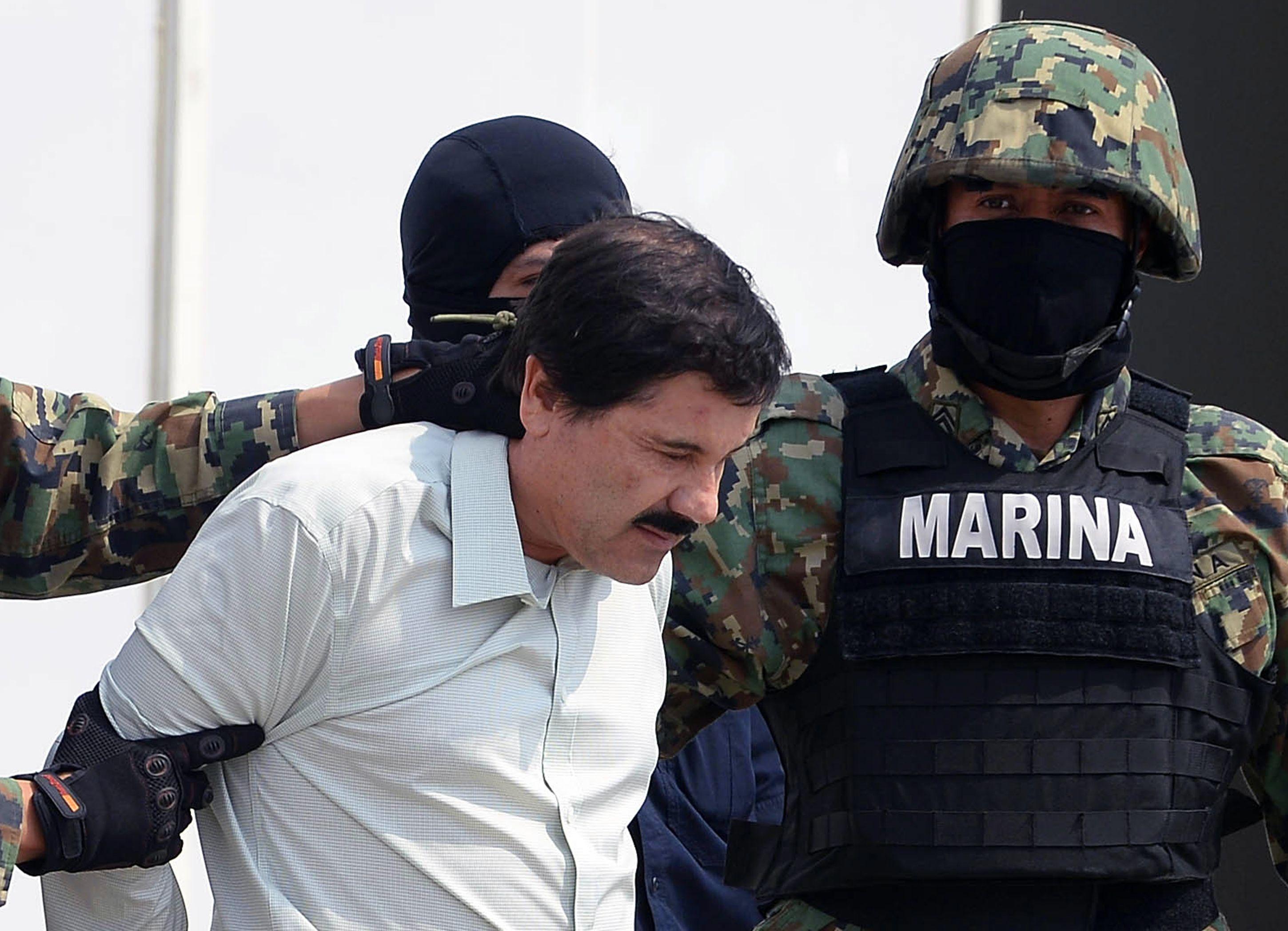 Joaquín Guzmán es procesado en EE. UU. por 11 delitos. (Foto Prensa Libre: AFP)