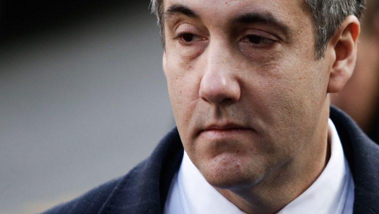 Michael Cohen, exabogado personal de Donald Trump. (Foto Prensa Libre: Hemeroteca PL)