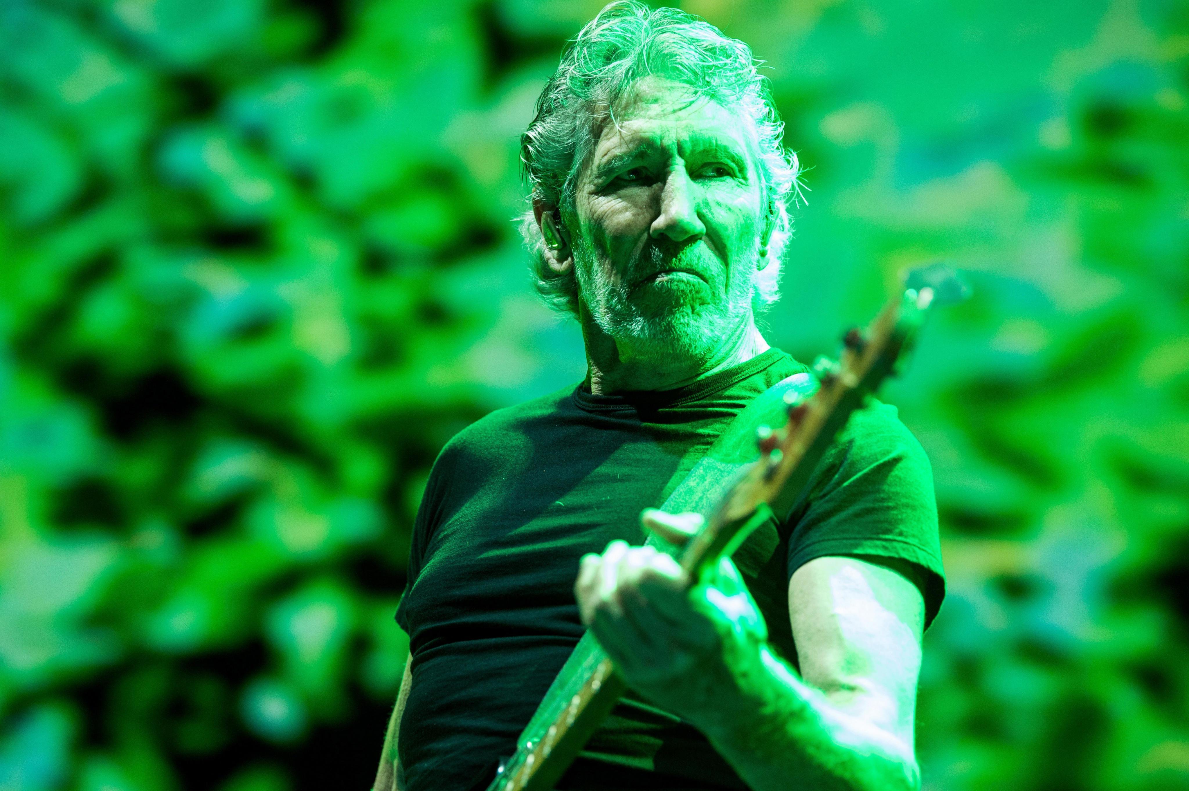 Roger Waters vuelve a arremeter contra la política migratoria de Donald Trump (Foto Prensa Libre: EFE).
