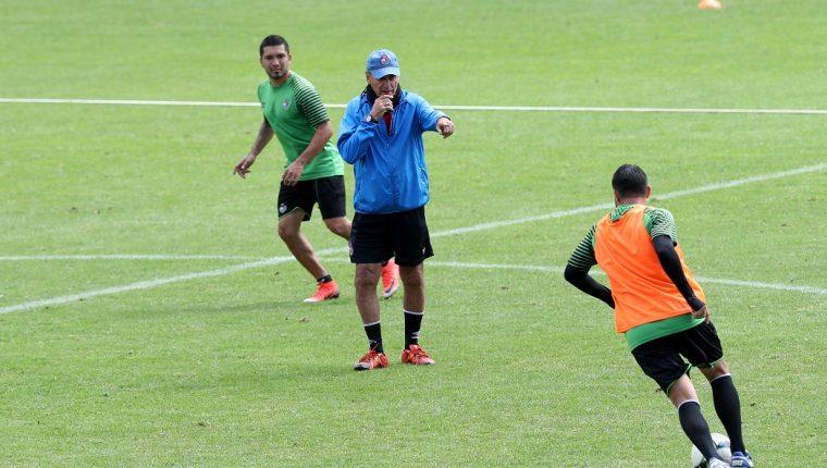 Horacio Cordero en entrenamiento