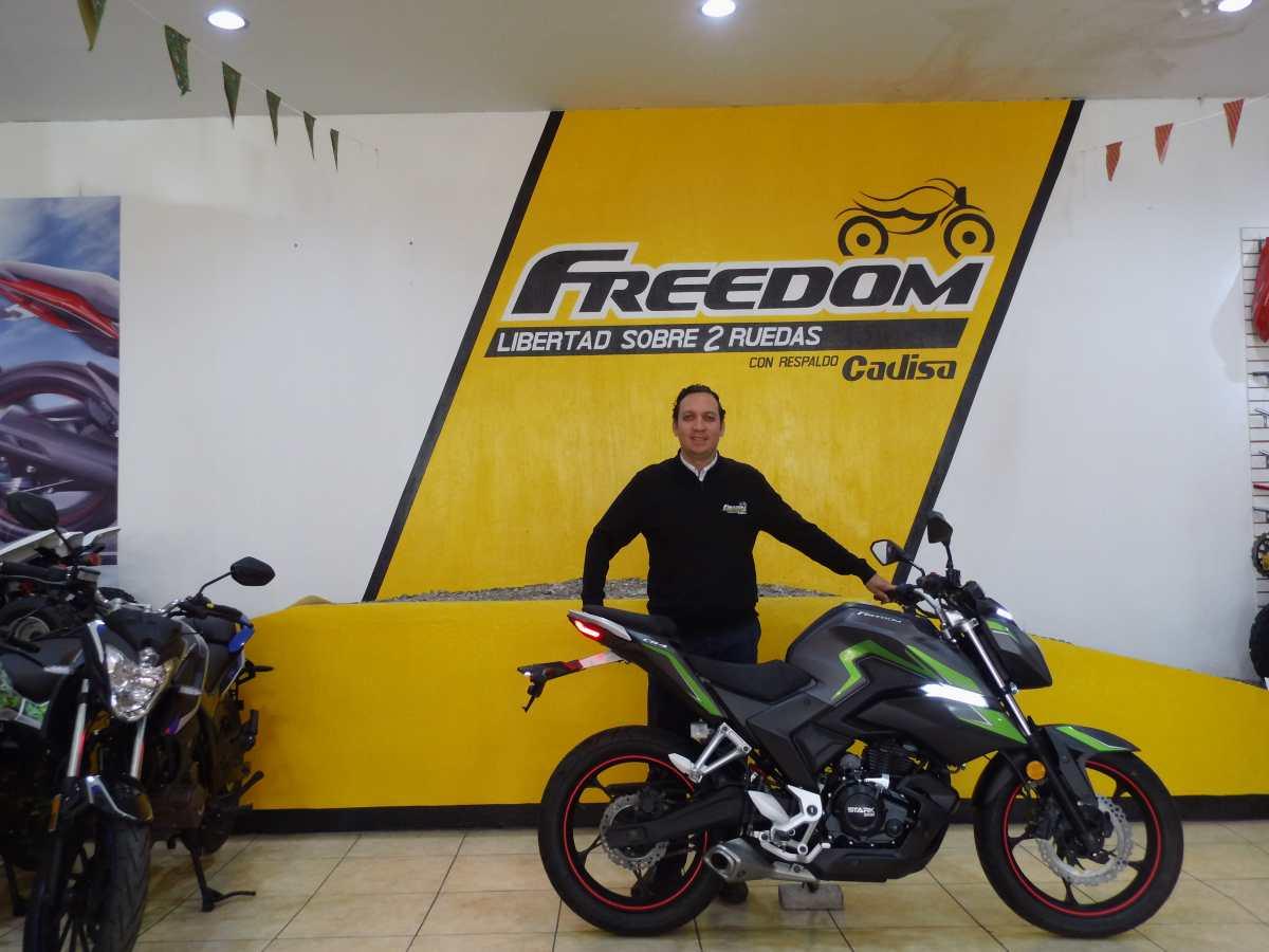 Motos Freedom busca seguridad de los motoristas