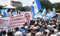 Los guatemaltecos salieron a manifestarse a favor del trabajo de la Cicig. GETTY IMAGES