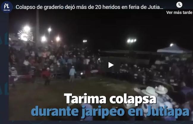 Imágenes muestran lo sucedido en un jaripeo en Jutiapa. (Foto Prensa Libre: Hemeroteca PL).
