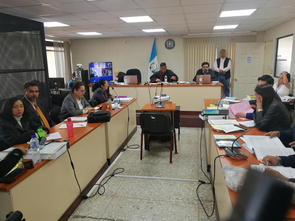 El Tribunal de Mayor Riesgo C reprogramó el debate y ordenó a la Fiscalía que acredite la muerte del Liro Boy con el certificado de defunción. (Foto Prensa Libre: Kenneth Monzón)