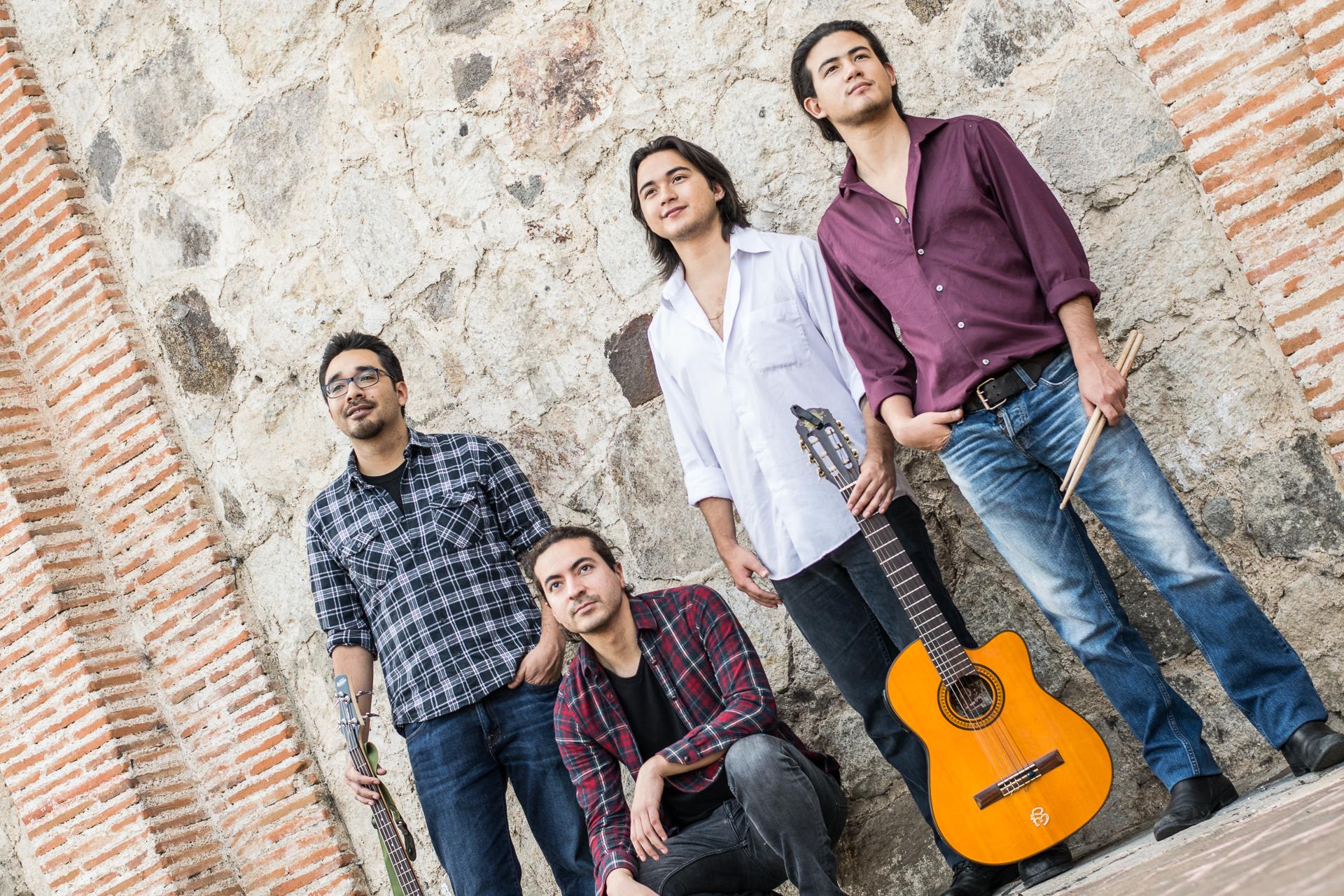 Kadmon es una banda guatemalteca  que ha cautivado desde el 2015.  Foto Prensa Libre: Tanja Mikolcic