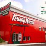 El segundo local de Krispy Kreme se ubica en Majadas en Zona 11 y fue inaugurado en noviembre del 2018. (Foto Prensa Libre: Facebook Krispy Kreme)