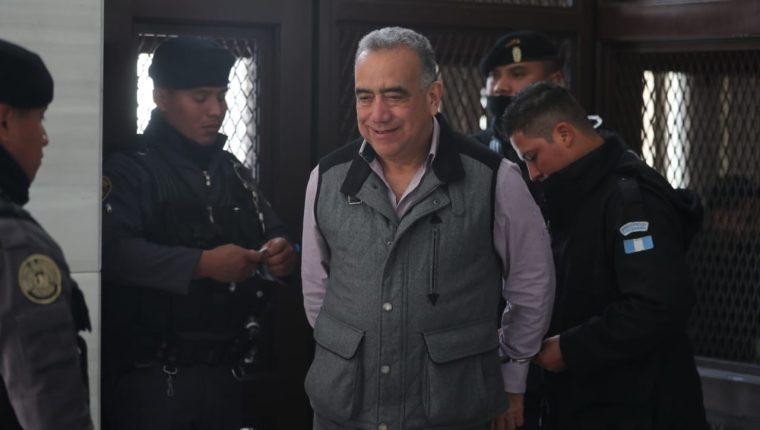 El exdiputado Jaime Martínez Lohaiza intentó separa al Tribunal del caso Lavado y Política. (Foto Prensa Libre: Érick Ávila)