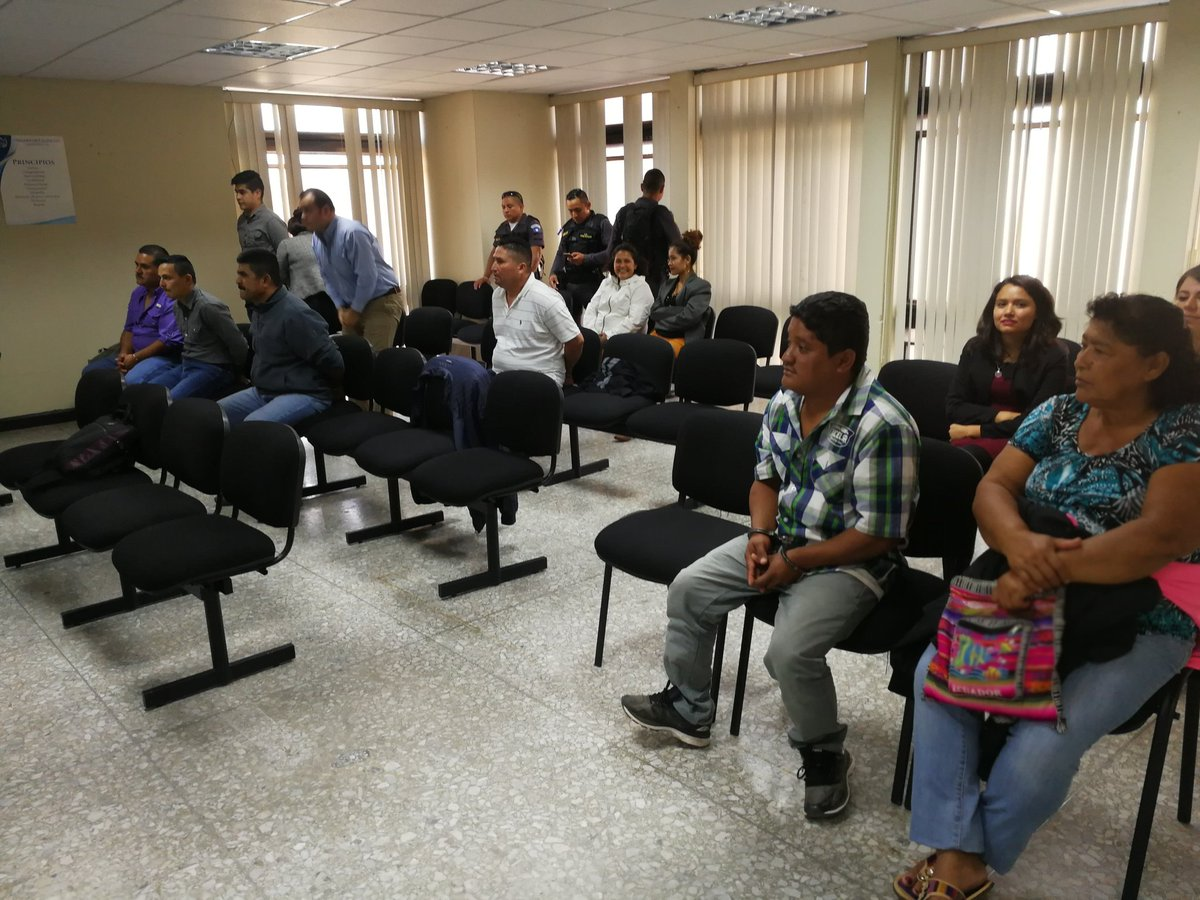 Siete personas, entre ellas dos agentes de tránsito de Nueva Concepción, Escuintla, fueron ligadas a proceso penal, señaladas de  narcotráfico. (Foto Prensa Libre: Hemeroteca PL)