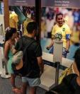 En el Museo del Estadio Maracaná se dedica un espacio a la futbolista brasileña Marta. (Foto Prensa Libre EFE)