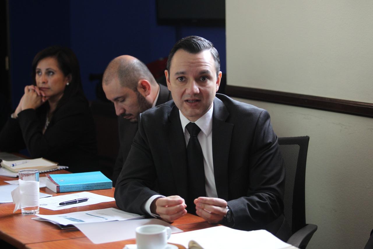 Mario Duarte, secretario de Inteligencia Estratégica del Estado de Guatemala. (Foto Prensa Libre: Hemeroteca)