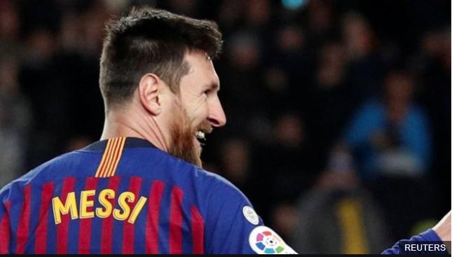 Lionel Messi alcanza los 400 goles