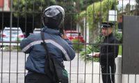 La Cancillería no atendió este lunes sin previo aviso. (Foto Prensa Libre: Óscar Rivas)