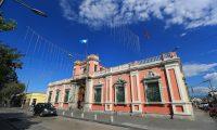 Fachada del Tribunal Supremo Electoral ubicado en la zona 2. (Foto Prensa Libre: Hemeroteca PL)