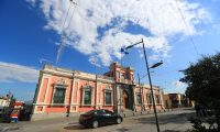 Tribunal Supremo Electoral ubicado en la zona 2. (Foto Prensa Libre. Hemeroteca PL)
