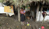 La familia de Jakelin Caal viven en condiciones de pobreza en una aldea de Raxruhá, Alta Verapaz. La muerte de la pequeña de 8 años mientras estaba en custodia de la Patrulla Fronteriza causó revuelo en EE. UU. (Foto Prensa Libre: Hemeroteca PL)
