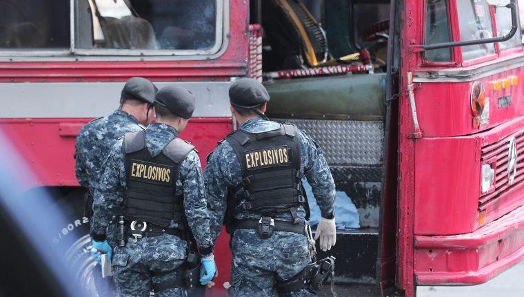 Seis personas sufrieron lesiones por la explosión del artefacto casero. (Foto Prensa Libre: Hemeroteca PL)