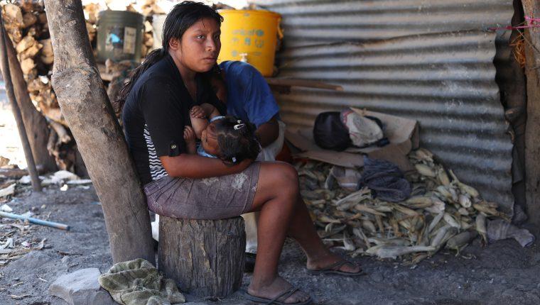 Familias afectadas en Magueyes,  San Luis Jilotepeque, Jalapa. Esbin García.