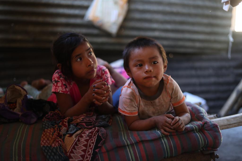 Familias afectadas por la falta de lluvia y pŽrdida de cosecha, en la aldea los  Magueyes, en San Luis Jilotepeque, Jalapa, aœn no han recibido ayuda por parte del gobierno.  Las familias perdieron por la Can'cula entre el 75 y 100 por ciento de su cosecha, la que esperan todos los a–os para su propio consumo.                                                                                            Fotograf'a Esbin Garcia 24-01- 2019.