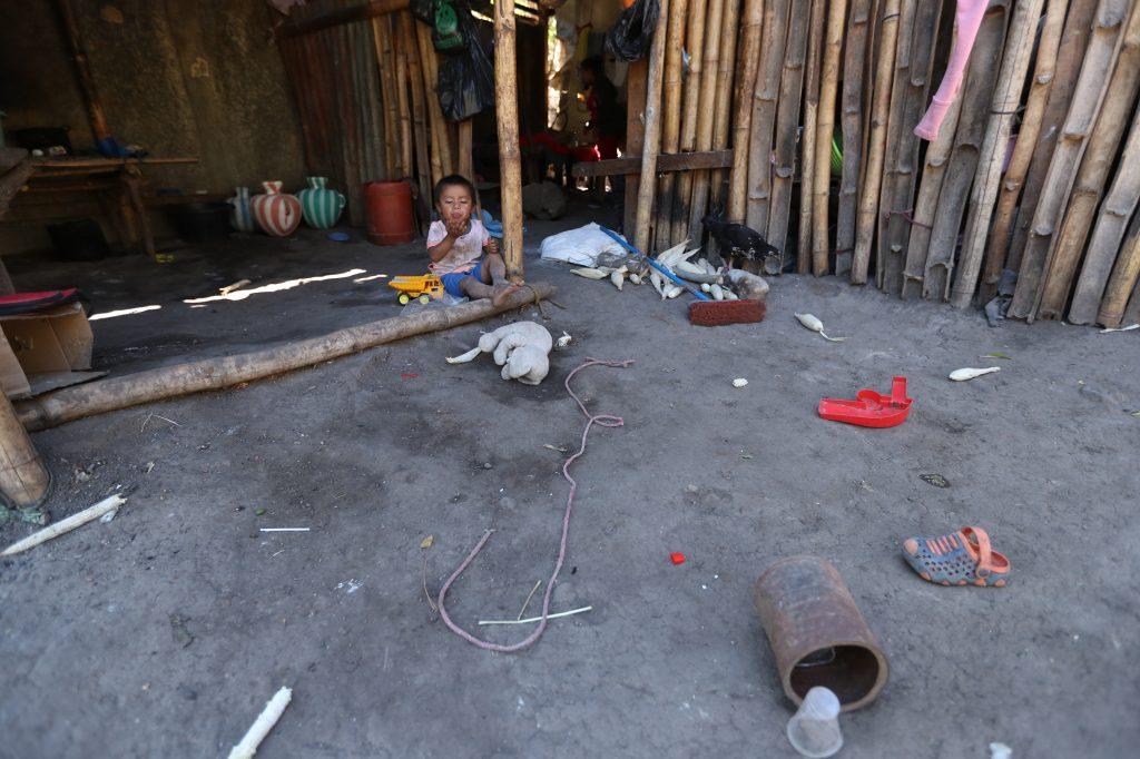 La comida es escasa en varias comunidades del corredor seco. Esbin García.