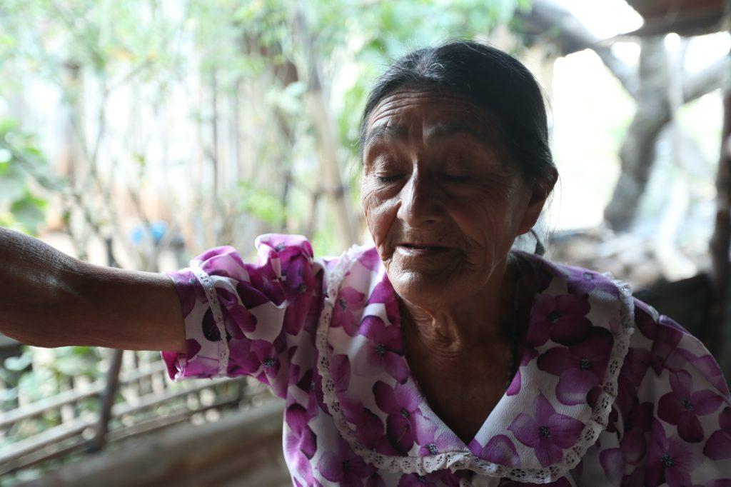 Familias afectadas por la falta de lluvia  en Chinchiltor, Comapa, Jutiapa. Esbin García.