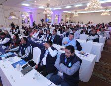 Alcaldes de la Asociación Nacional de Municipalidades (Anam) durante Asamblea  Nacional Ordinaria celebrada el 26 de enero de este año. (Foto Prensa Libre:  Hemeroteca PL)