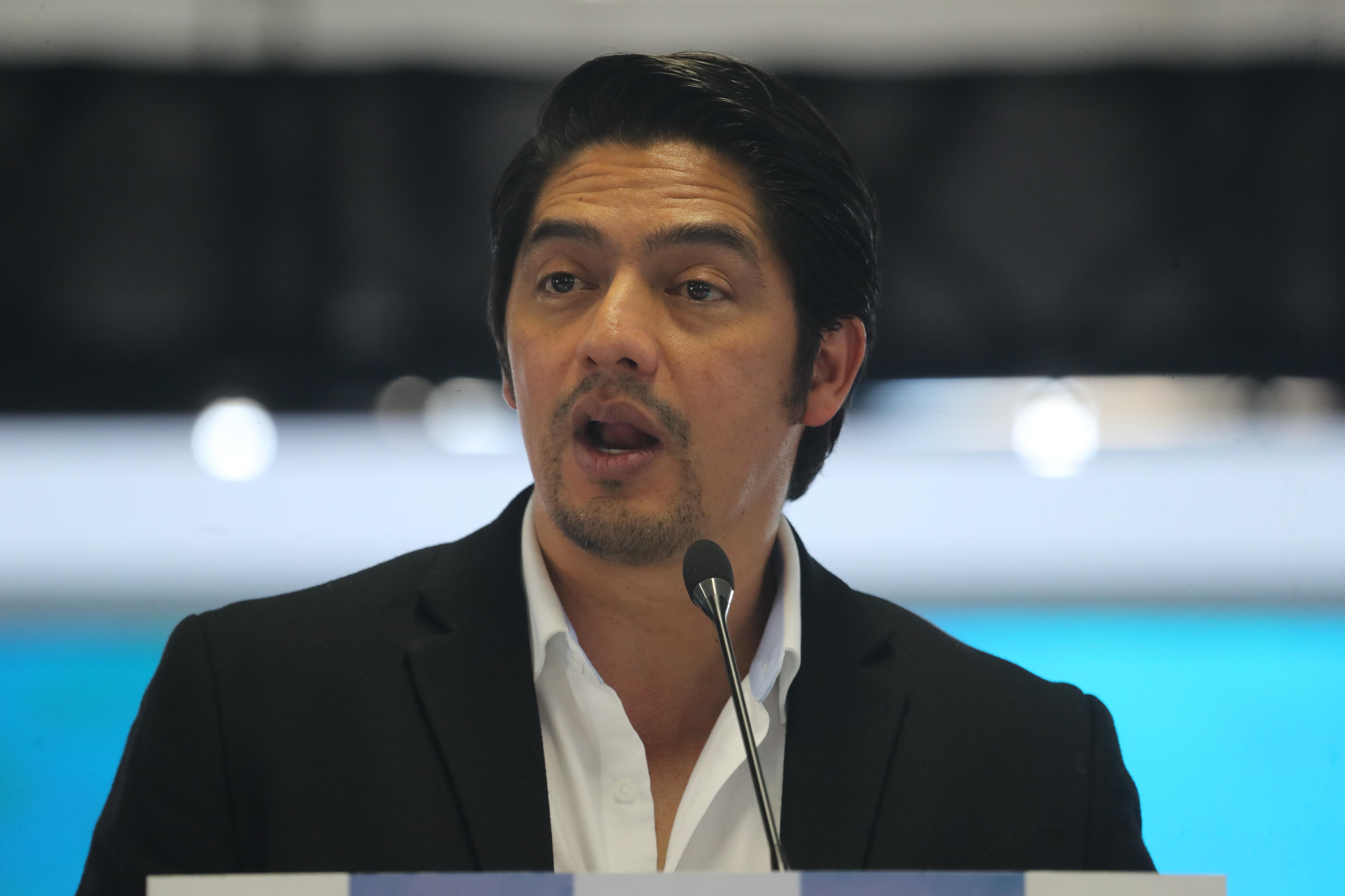 Juan Carlos Eggenberger, como presidente,  proclamado como candidato presidenciables en  asamblea Nacional del partido VIVA la cual se realzo en el parque de la industria.   Erick Avila                   26/01/2019