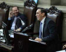 Juan Manuel Giordano busca su tercer periodo en el Congreso, ahora con el partido FCN-Nación. (Foto Prensa Libre: Hemeroteca PL)