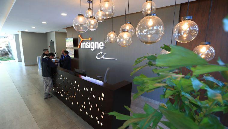 La desarrolladora Calidad Inmobiliaria invirtió US$29 millones en el proyecto de oficinas Insigne. (Foto Prensa Libre: Carlos Hernández Ovalle)