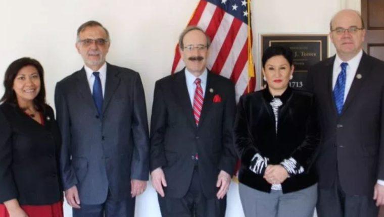 Los congresistas Norma Torres, Eliot Engel y Jim McGovern han mostrado su apoyo  constante a la Cicig. (Foto Prensa Libre: Hemeroteca PL)